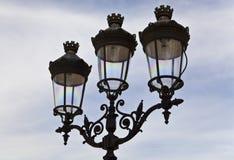 paris lampowa ulica Obrazy Stock