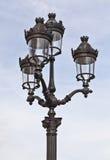 paris lampowa ulica Zdjęcie Stock