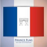 Paris Landmarks design Royalty Free Stock Photo