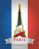 Paris Landmarks design Stock Photography