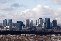 Paris landscacpe Royalty Free Stock Image