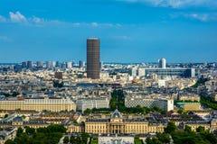 Paris landscape Royalty Free Stock Photo