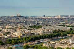 Paris landscape Stock Photography