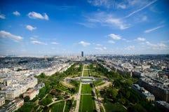 Paris landscape - champ de mars Royalty Free Stock Photos