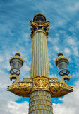 Paris lantern Stock Photography