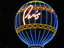 Paris,Las Vegas Royalty Free Stock Photo