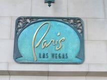 Paris, Las Vegas Stockfoto