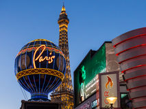 Paris Las Vegas Stockbild