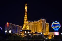 Paris Las Vegas stockfotos