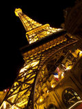 Paris Las Vegas Eiffel tower Royalty Free Stock Image