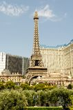 Paris Las Vegas Eiffel Tower royalty free stock photography
