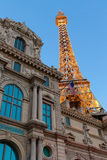 Paris Las Vegas est un lieu de villégiature luxueux et un casino sur la bande de Las Vegas Photos libres de droits