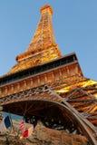 Paris Las Vegas est un lieu de villégiature luxueux et un casino sur la bande de Las Vegas Photographie stock libre de droits