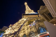 Paris Las Vegas hotel and casino royalty free stock photos