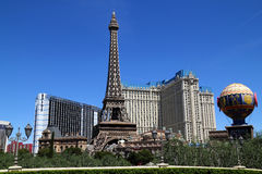Paris Las Vegas hotel and Casino Stock Image