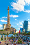 Paris Las Vegas hotel and Casino featured with the theme of Paris in France in Las Vegas, Nevada Royalty Free Stock Photos