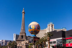 Paris Las Vegas hotel and casino in Las Vegas, Nevada Stock Photography