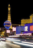 Paris Las Vegas Hotel and Casino. LAS VEGAS, NEVADA – OCT 09: Paris Las Vegas Hotel and Casino located on the Vegas Strip in Las Vegas, Nevada on October 9 Stock Images