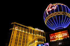 Paris Las Vegas hotel and casino Stock Photos