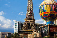 Paris Las Vegas is a hotel and casino Royalty Free Stock Photography