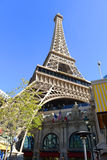 Paris Las Vegas, Las Vegas, NV. Paris Las Vegas is a luxury resort and casino on Las Vegas Strip in Las Vegas, Nevada, USA. The hotel has  Paris theme including Stock Photo