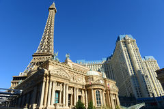 Paris Las Vegas, Las Vegas, NV. Paris Las Vegas is a luxury resort and casino on Las Vegas Strip in Las Vegas, Nevada, USA. The hotel has  Paris theme including Royalty Free Stock Photography