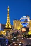 Paris in Las Vegas. View of the Paris hotel in Las Vegas, Nevada Royalty Free Stock Photo