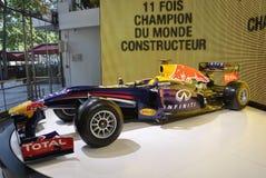 Paris, le 20 août - voiture de sport de Renault dans la salle d'exposition à Paris Images libres de droits
