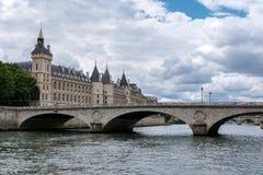 Paris - le changement d'Au de Pont Photographie stock