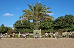 Paris - le Jardin du Luxembourg Images libres de droits