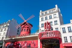Paris, le Moulin rouge photo libre de droits