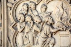 Paris - le Sainte-Chapelle Photos stock
