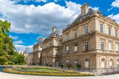 Paris, le Senat images stock