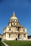 Paris, les invalides Royalty Free Stock Photos