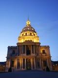 Paris - Les Invalides in evening Stock Photo