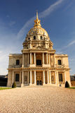 Paris, Les Invalides, famous landma Royalty Free Stock Image