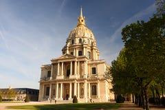 Paris, Les Invalides, famous landma Stock Photos