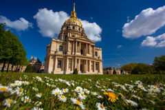 Paris, Les Invalides, famous landma Stock Photo