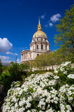 Paris, Les Invalides, famous landmark in France Royalty Free Stock Image