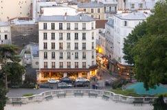 Paris life stock image