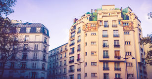 Paris living apartments Royalty Free Stock Photography