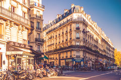 Paris living apartments Royalty Free Stock Photo