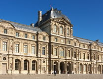 Paris, Louvre. One of the most famous museums of the world, Paris, France royalty free stock image