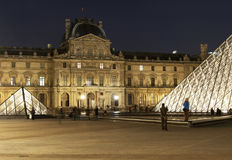 Paris - the Louvre Stock Photos