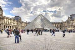 Paris. Louvre art gallery Stock Photo