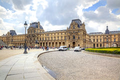 Paris. Louvre art gallery Royalty Free Stock Images