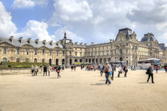 Paris. Louvre art gallery Royalty Free Stock Image