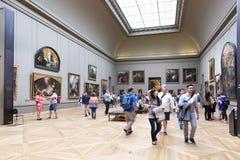 Paris, Louvre Stock Photography