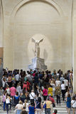 Paris, Louvre Royalty Free Stock Photo