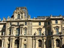 Paris Louvre Museum Stock Photography